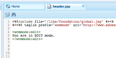 WCMMode Tags & Functions
