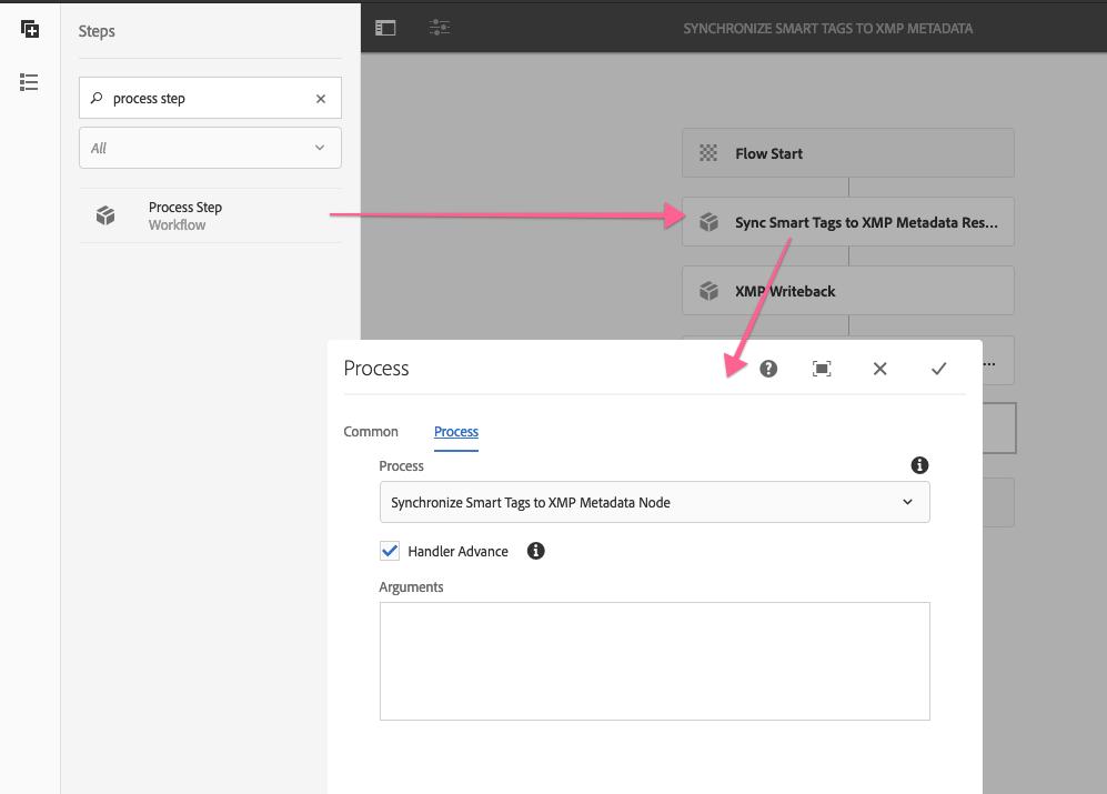 Sync Smart Tags to XMP Metadata Node